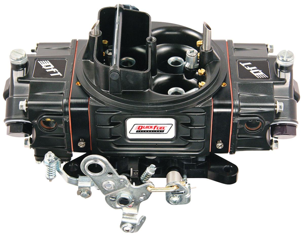 Carburetor, Quick Fuel Technology, SS Series, 650 CFM, MS, Black Diamond