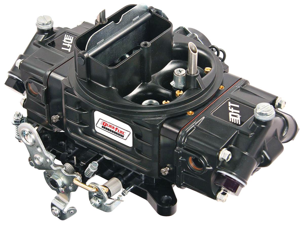 Carburetor, Quick Fuel Technology, SS Series, 680 CFM, VS, Black Diamond