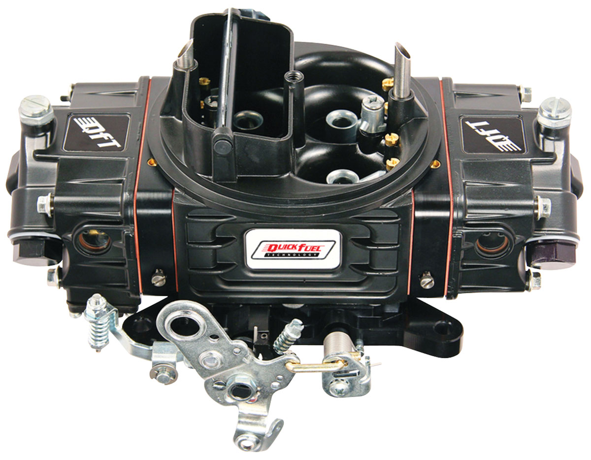 Carburetor, Quick Fuel Technology, SS Series, 850 CFM, MS, Black Diamond