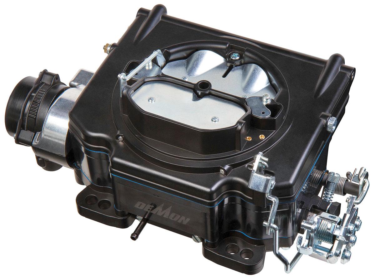 Carburetor, Demon, Street Demon, 625 CFM, Shadow Black Finish
