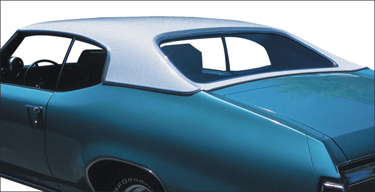 Vinyl Top, 1964-65 Cutlass 2dr Coupe, 1964-65 Skylark/G.T.L 2dr Coupe/Sedan