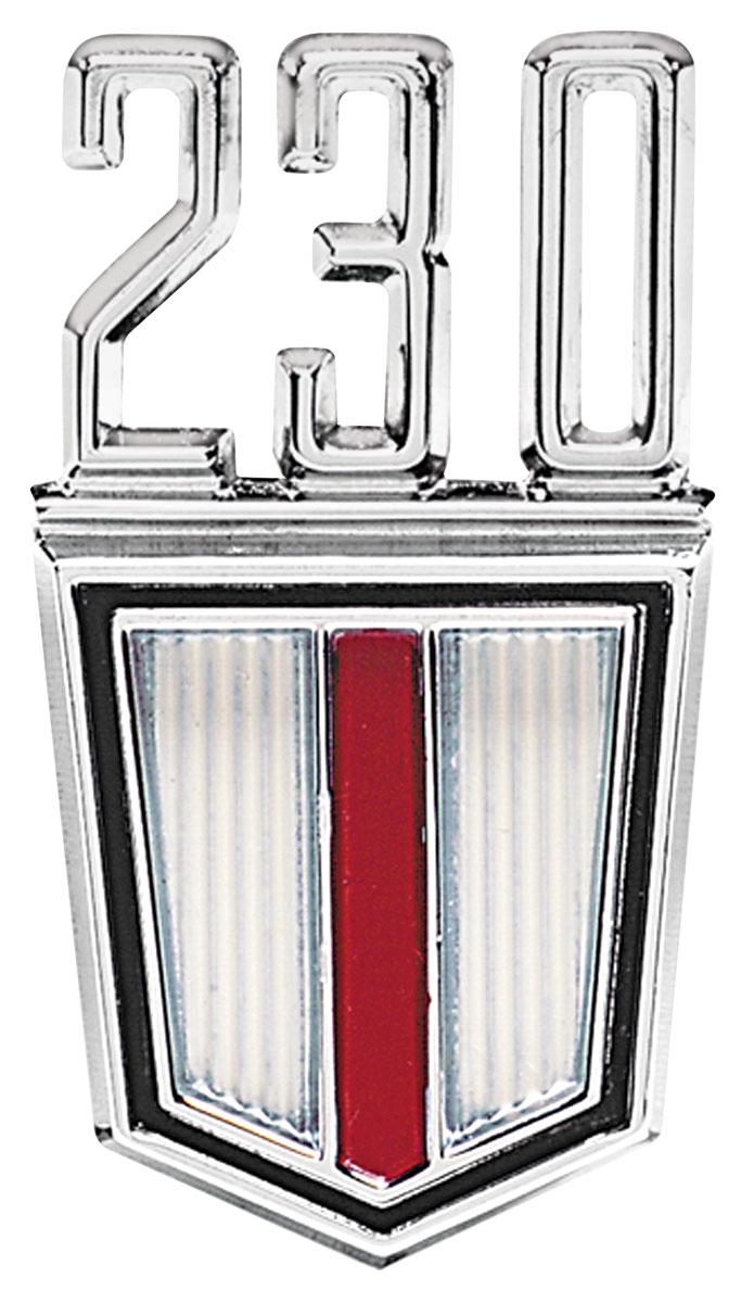 Emblem, Fender, 1965-67 Chevelle/El Camino, 230 6-Cyl