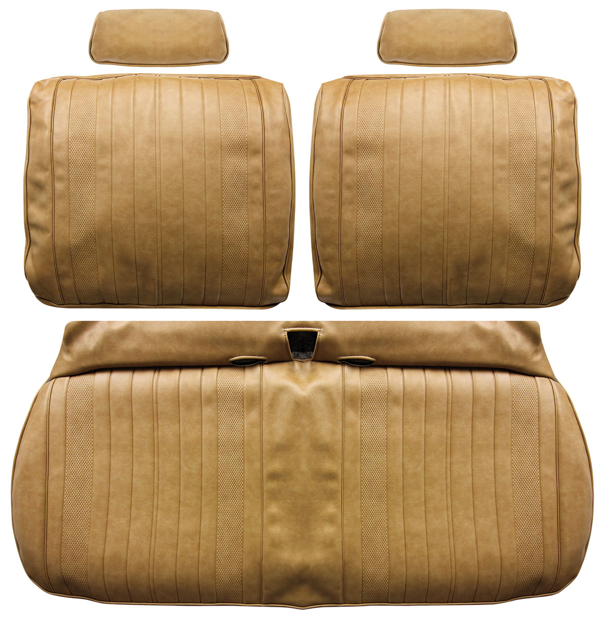 Seat Upholstery, 1970 Chevelle/El Camino, Front Split Bench DI
