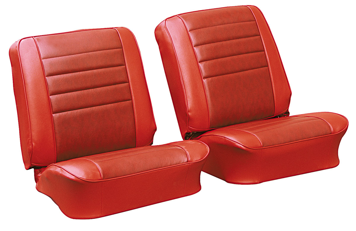 Seat Upholstery, 1965 Chevelle/El Camino, Front Split Bench PUI