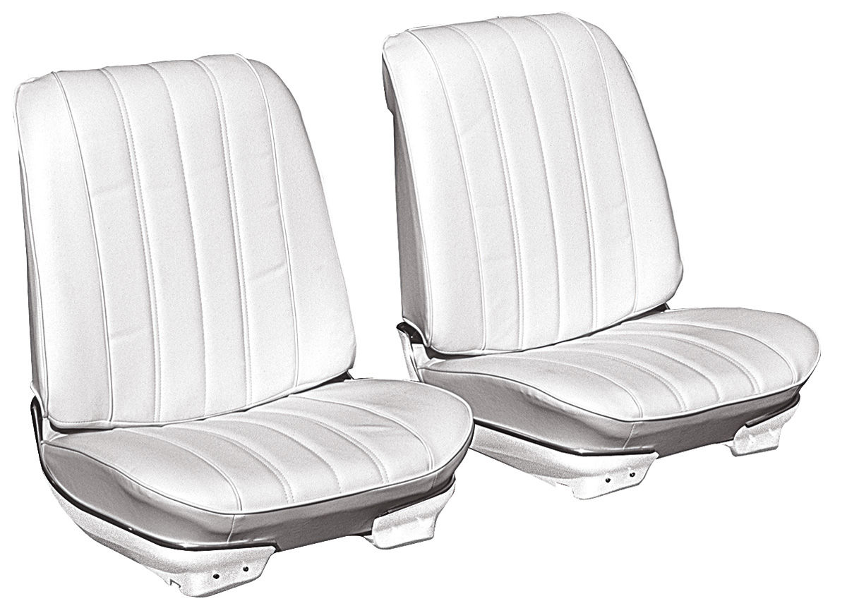 Seat Upholstery, 1966 Chevelle/El Camino, Front Split Bnch PUI