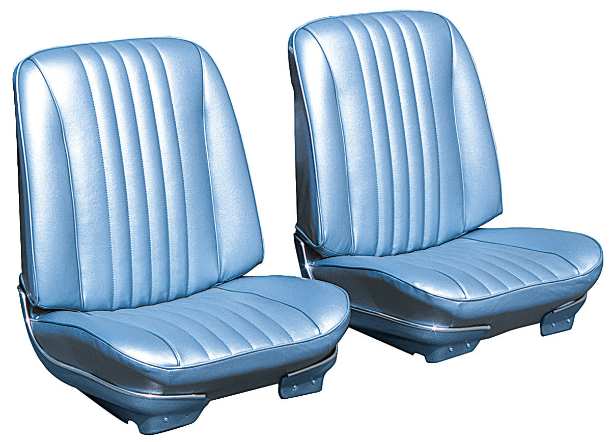 Seat Upholstery, 1968 Chevelle/El Camino, Front Buckets DI