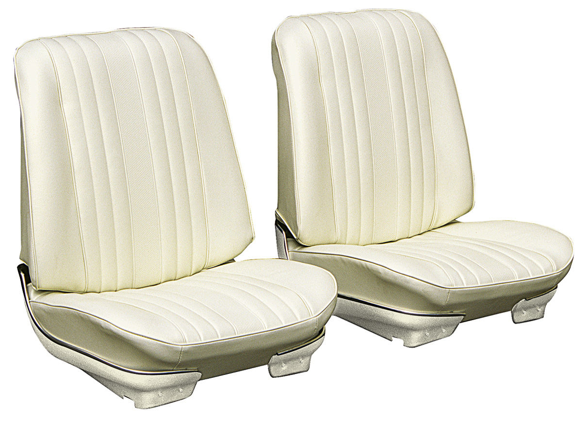 Seat Upholstery, 1969 Chevelle/El Camino, Front Buckets LEG