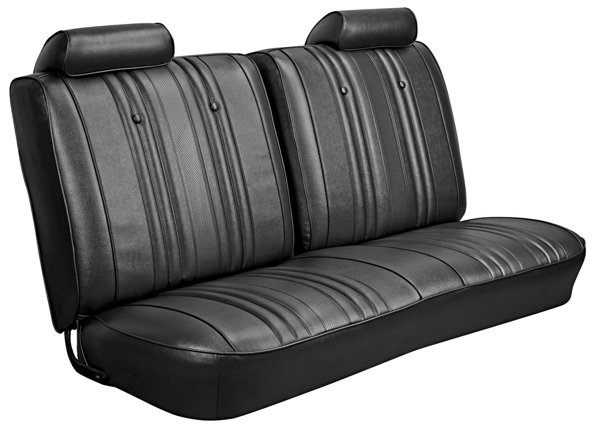 Seat Upholstery, 1969 Chevelle/El Camino, Front Split Bench DI