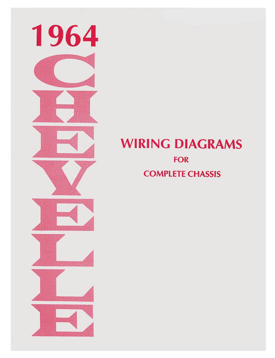 Wiring Diagram Manual, 1975 Chevelle/El Camino
