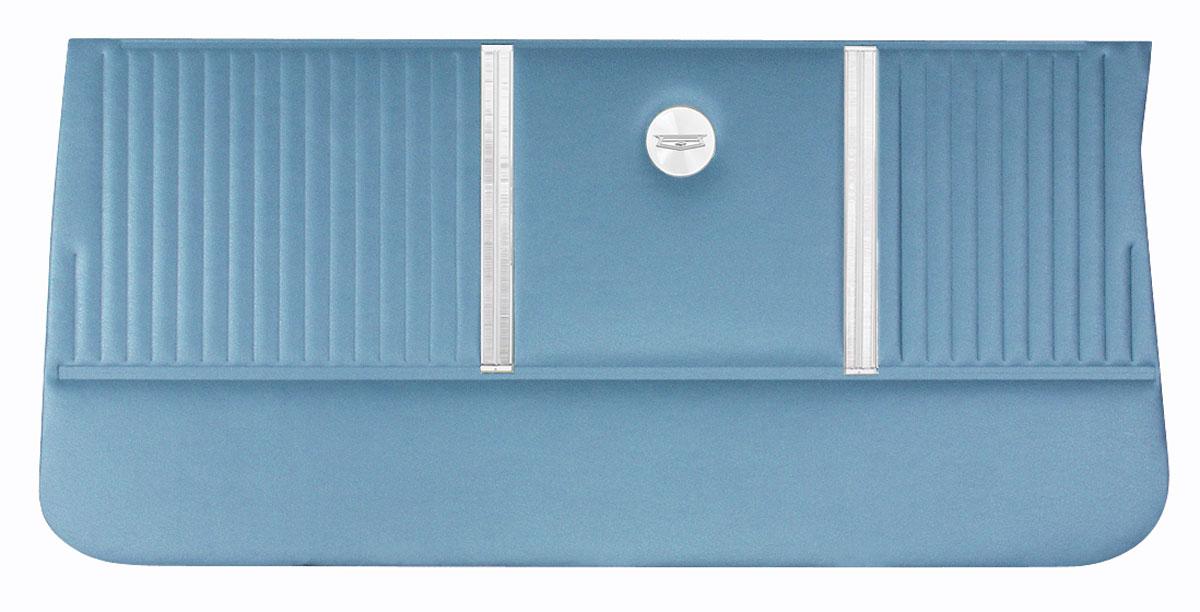 Door Panels, 1964 Chevelle, 2dr. Wagon, Rear DI