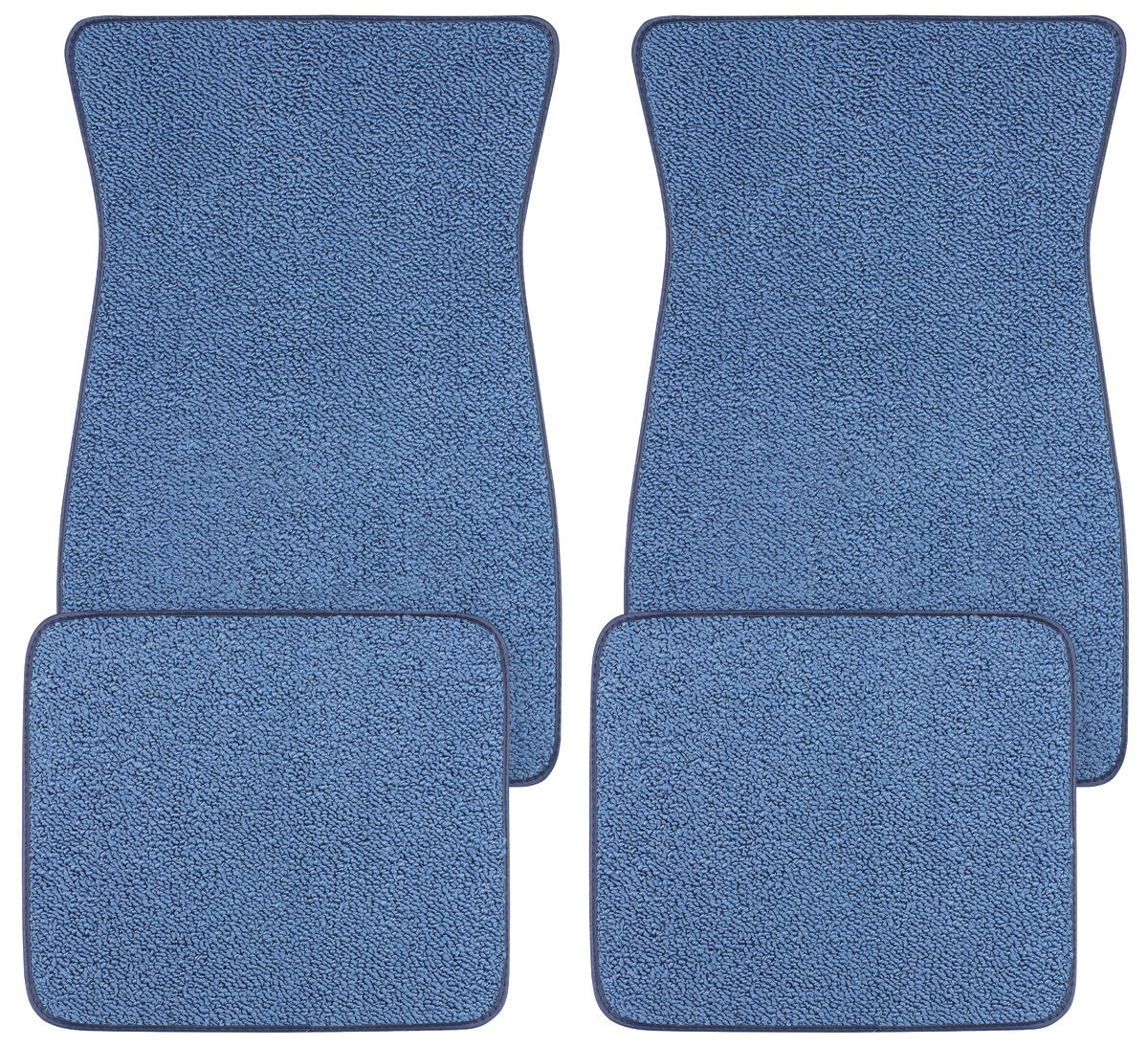 GGBAILEY D51237-F1A-GY-LP Custom Fit Automotive Carpet Floor Mats for 1969 1970 1974 1975 Volvo 164 Sedan Grey Loop Driver /& Passenger 1972 1971 1973