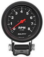 Gauge, Tachometer, Auto Meter, Z-Series, 2-5/8