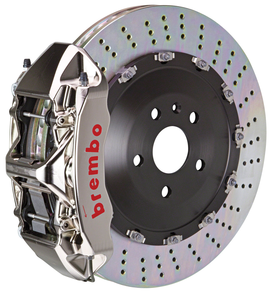 Brake Set, Brembo GT-R, 2009-15 CTS-V, Front, 2pc 405mm Rotors, 1pc 6P Caliper
