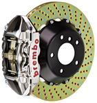 Brake Set, Brembo GT-R, 2009-15 CTS-V, Rear, 2pc 380mm Rotors, 1pc 4P Caliper