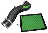 Air Intake, Green Filter, 2007-08 Escalade/EXT/ESV, 6.2L