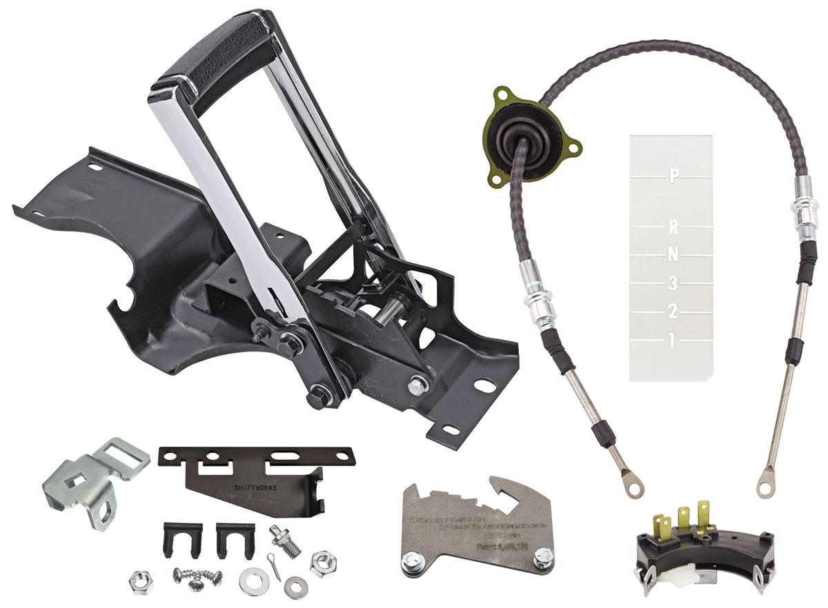 Shifter Conversion Kit, Complete Ratchet, 68-70  CHEVELLE TH350, TH400