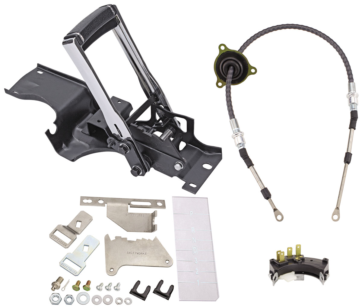 Shifter Conversion Kit, Complete, 68-70  CHEVELLE 4L80E