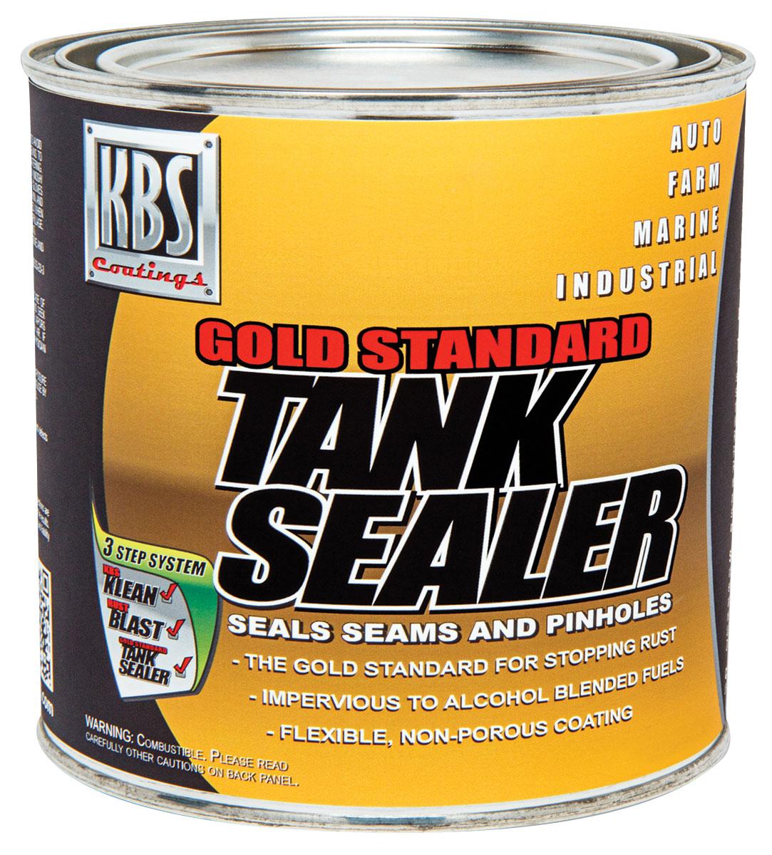 Sealer, Fuel Tank, KBS Coatings, Gold Standard