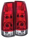 Tail Light Assembly, ANZO, 1999-00 Escalade, Incandescent, Gen 5