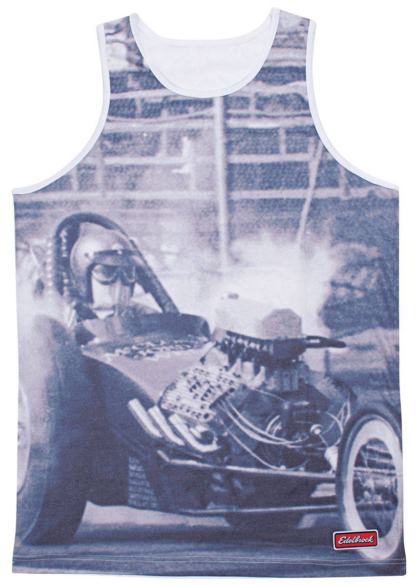 Tank Top, Edelbrock Drags