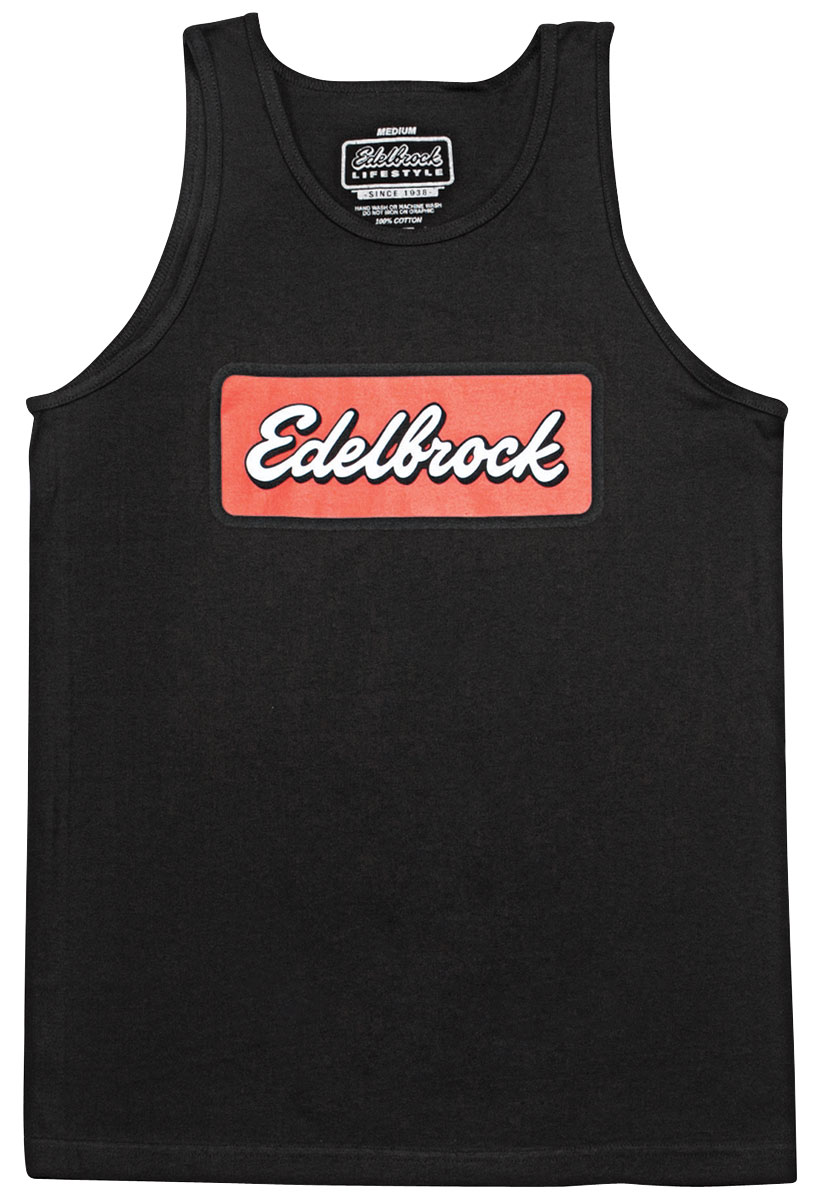 Tank Top, Edelbrock Badge
