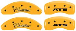 "Covers, Brake Caliper, 2013-16 ATS, 2.5L, JE5 Brakes, 17"" Minimum Wheel Diam"