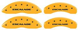 "Covers, Brake Caliper, 2002-06 Escalade/ ESV/ EXT, 18"" Minimum Wheel Diameter"