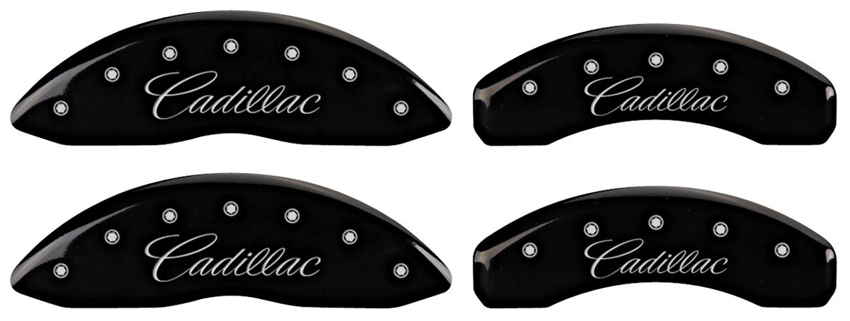 "Covers, Brake Caliper, 2014-19 CTS, J55 Brakes, 17"" Minimum Wheel Diameter"