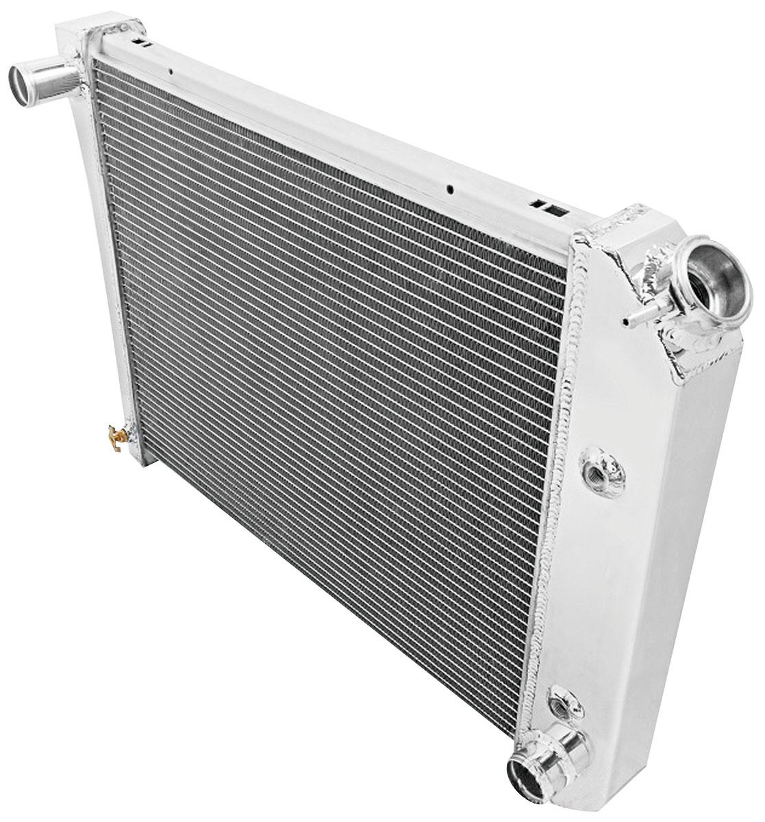 "Radiator, Alum. American Eagle, 68-88 Chevll/Monte/Regal, 64-9 Sky, 2Row 1"" Tube"