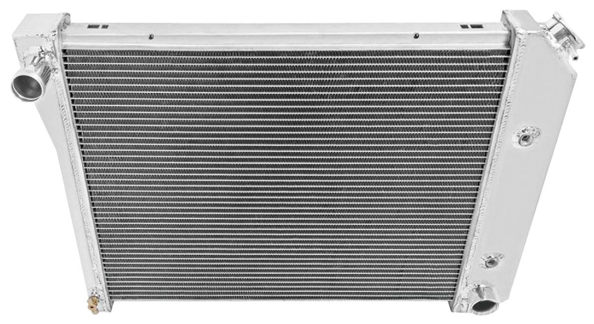 "Radiator, Alum. Champion, 68-88 Chevelle/Monte/Regal, 64-9 Sky, 2-Row 3/4"" Tube"