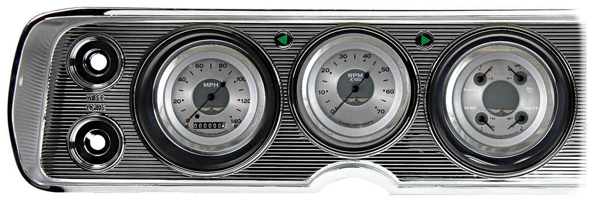 Gauge Conversion Kit, 64-65 Chevelle/El Camino, All American