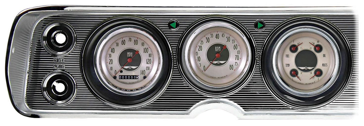 Gauge Conversion Kit, 64-65 Chevelle/El Camino, AllAmericanNickel