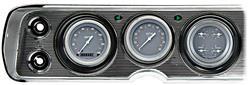 Gauge Conversion Kit, 64-65 Chevelle/El Camino, Silver Grey