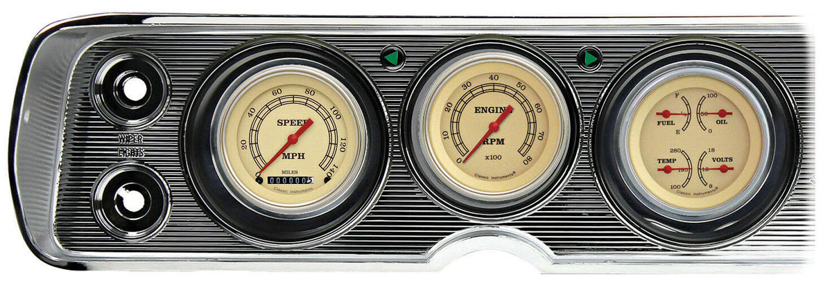 Gauge Conversion Kit, 64-65 Chevelle/El Camino, Vintage