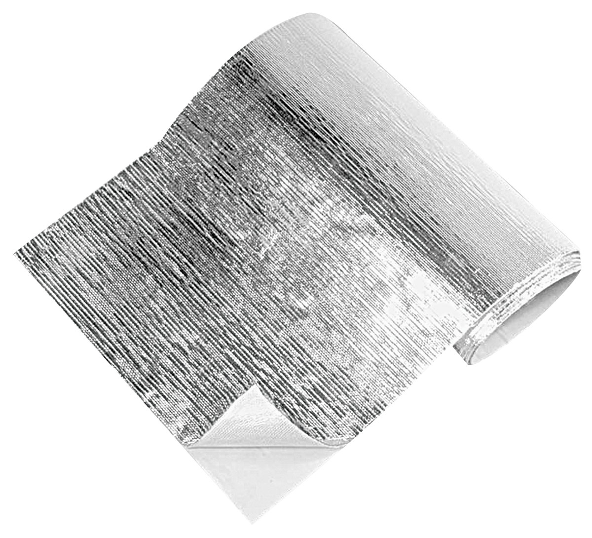 """Heat Barrier, Thermo-Tec, 12"""" x 12"""", Adhesive Backed, Silver"""