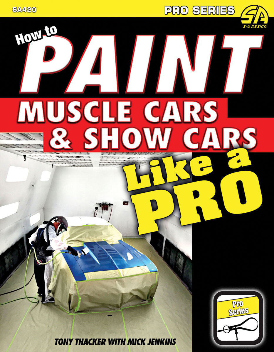 Book, How To Paint Muscle Cars & Show Cars Like A Pro