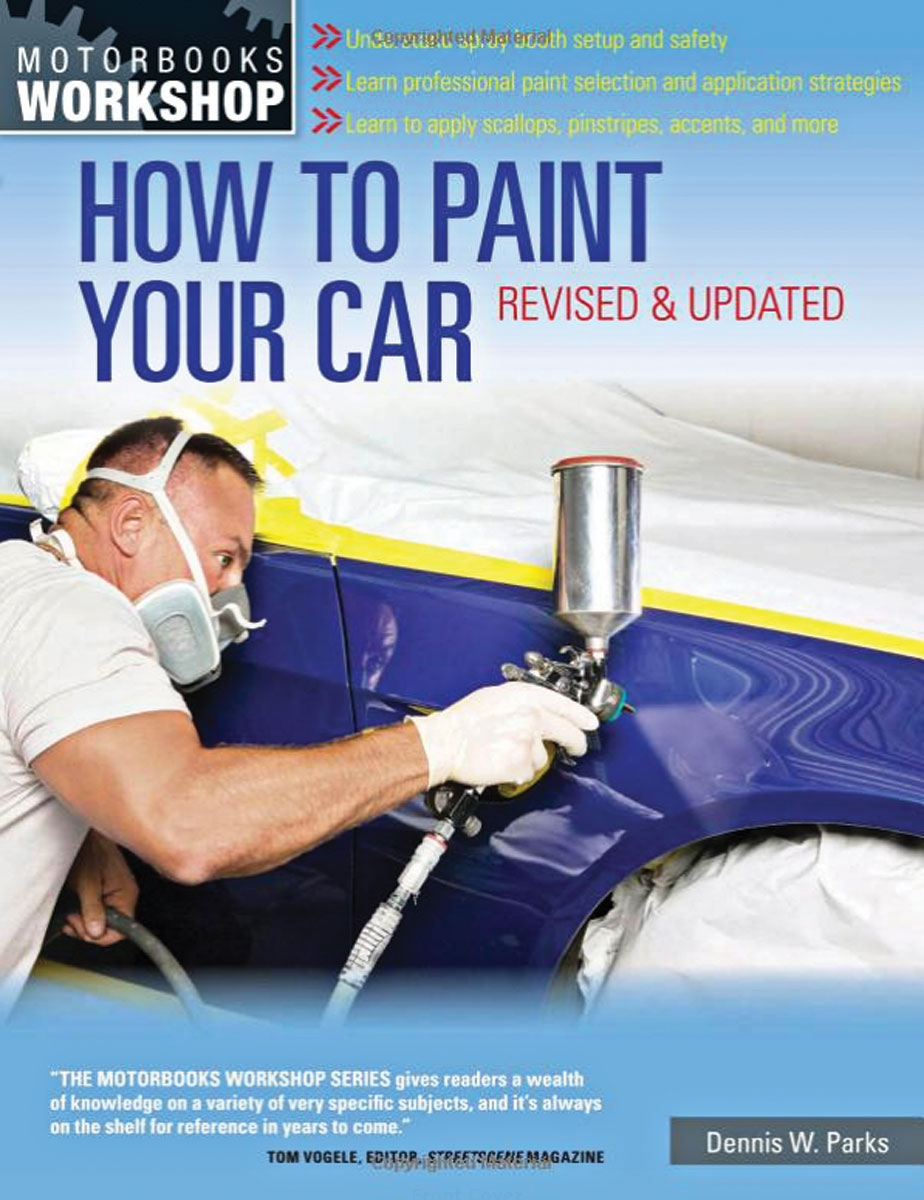 Book, How To Paint Your Car