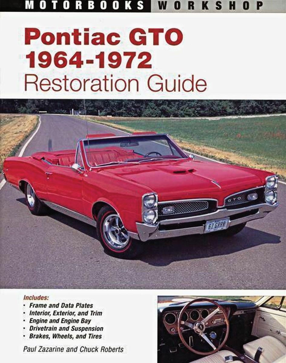 Book, Pontiac GTO Restoration Guide, 1964-1972