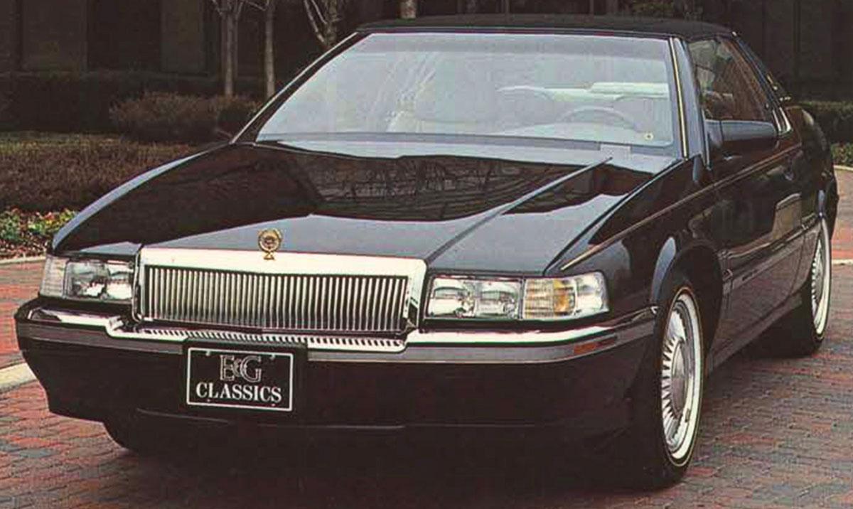 Grille, Classic Vertical, 1995-02 Eldorado, Low-Profile, Chrome
