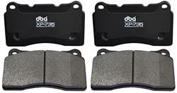 Brake Pads, DBA, 2003-07 CTS, 2005-08 STS w/o Platinum, XP+735, Front