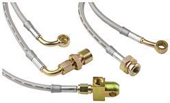 Brake Hoses, Goodridge, 2000-05 ESC/EXT/ESV, Stainless Steel, w/o StabiliTrak