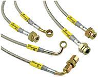 Brake Hoses, Goodridge,2000-05 ESC/EXT/ESV, Stainless Steel, w/ StabiliTrak