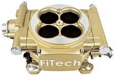 EFI Kit, Base, FiTech Easy Street, 600 HP, Gold Finish
