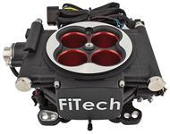 EFI Kit, Base, FiTech GO EFI 4 Power Adder, 600 HP, Matte Black Finish
