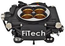 EFI Kit, Base, FiTech GO EFI 8 Power Adder, 1200 HP, Matte Black Finish