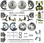 """Disc Brake Kit, Right Stuff, 1964-72 A, Front/Rear w/9"""" Booster & Master"""