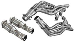 """Headers, SS Longtube, Kooks, 2009-15 CTS-V, 1-7/8""""x 3"""", Hi-Flow Catted X-Pipe"""