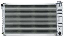 Radiator, Aluminum Cold-Case, 1966-71 Cutlass, w/Trans Cooler