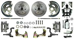 """Disc Brake Kit, Right Stuff, 1964-72 A-Body, Front w/8"""" Booster & Master"""