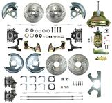 """Disc Brake Kit, Right Stuff, 1967-72 A, Front/Rear w/11"""" Booster & Master"""